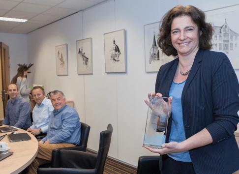 Gemeentesecretaris Caroline Jacobs is trots op de gestegen medewerkertevredenheid.